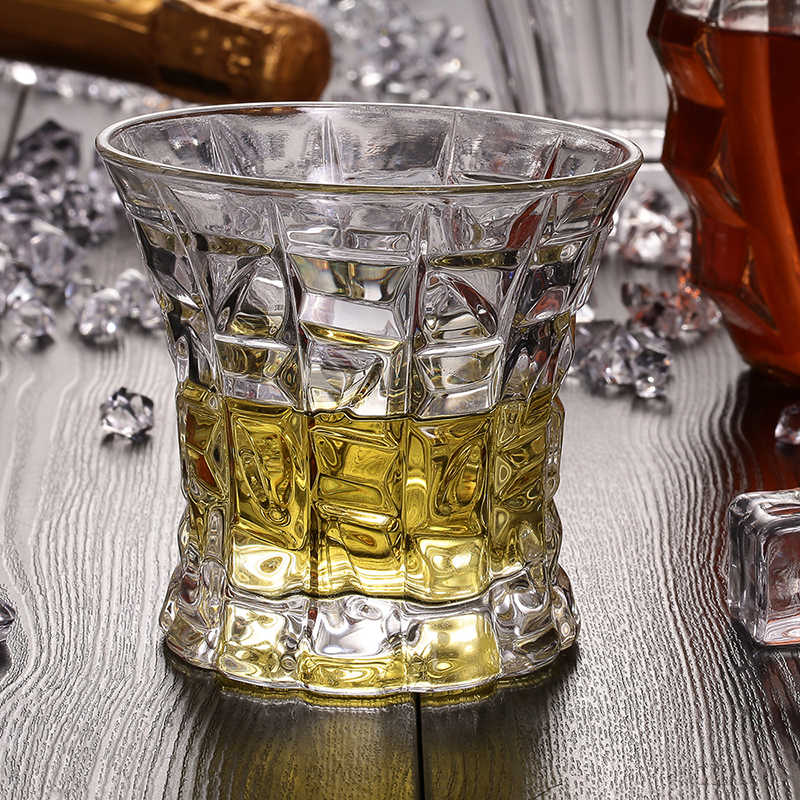 Skos Whisky szklanki 7OZ bezołowiowe Vaso Copos do picia piwa wody wina Brandy Wedding Party