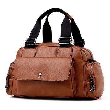 Luxury Ladies Handbags Women Bags Designer Female Multi-pocket Shoulder Messenger Bags Famous Brand 2018 Casual Big Totes Bag
