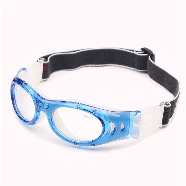 0d13d63fe6 Adolescentes adultos Baloncesto Gafas con protección Cojines lente  transparente óptico niños deportes gafas Vóleibol Fútbol