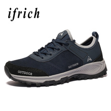 Mountain Hiking Shoes Men Women Outdoor Rubber Sole Anti-slip Sport Sneakers Unisex Climbing