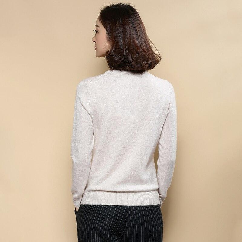 Aliexpress.com : Buy Hotlist! Basic Style Women 100 Cashmere O ...