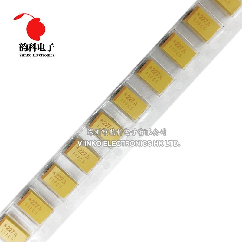 Танталовый конденсатор типа D 100 мкФ Ф 150 мкФ 220 мкФ 330 мкФ Ф 470 мкФ 680 в 4 в 6 в 2,5 в 10 в 16 в 25 в 35 в 50 в 6,3/4,7/10 шт. 10/15/22/33/47UF