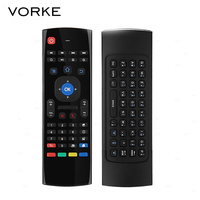 MX3 Russian Version 6 Axis Gyro 2 4G Wireless Air Mouse Keyboard Motion Sensing Remote Control