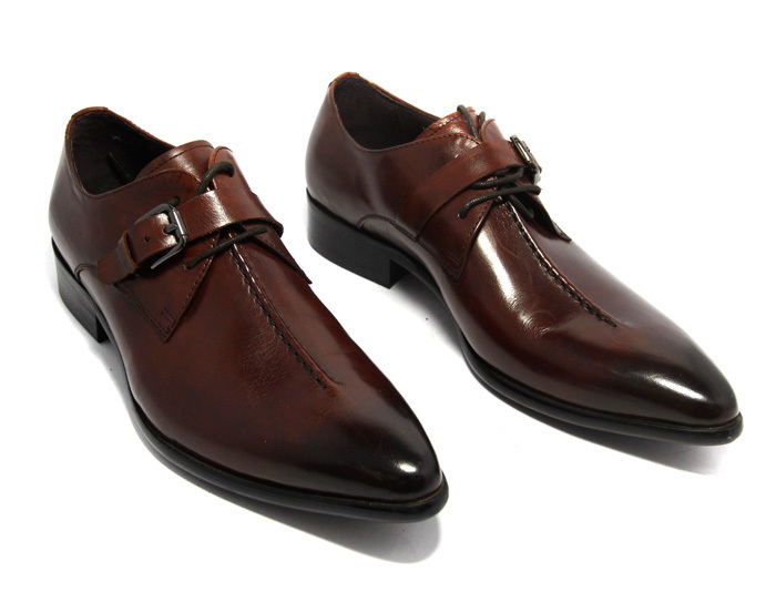 free shipping italian men dress shoe spanish shoes genuine leather