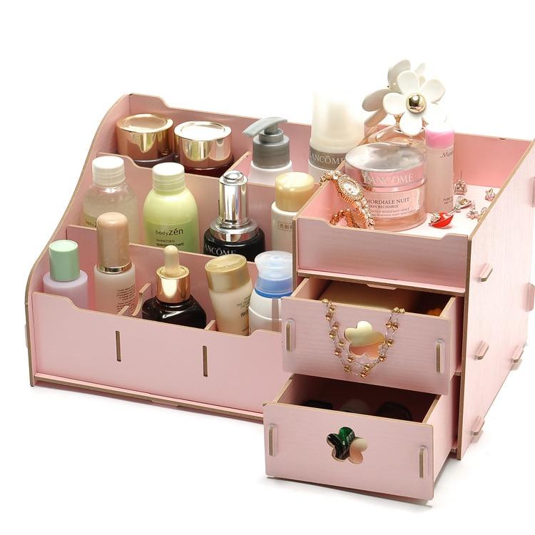 DIY Cosmetic Organizer Drawer Makeup Case Storage Insert ...