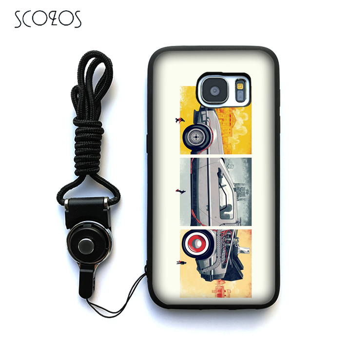 SCOZOS Back to the Future Movie Marty McFly Case For Samsung Galaxy S6 S7 S7 edge S8 S8 Plus J3 J5 J7 A3 A5 A7 2016 Note 8 &ww24