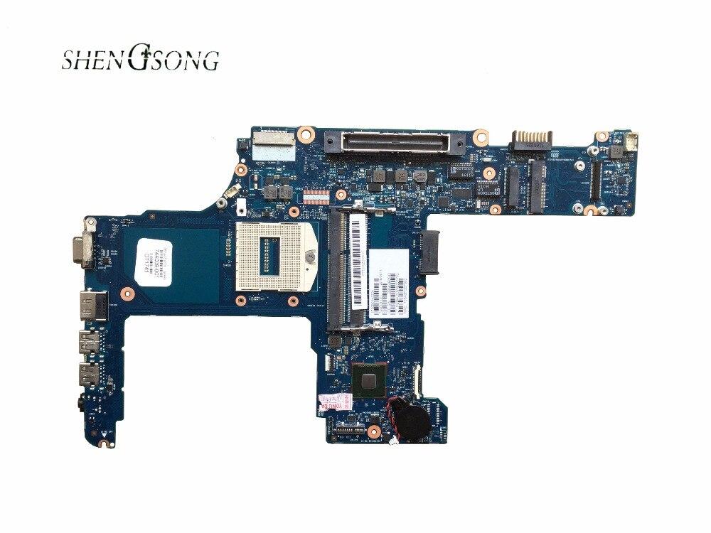 Carte mère d'ordinateur portable d'origine 744009-001 pour HP pour ProBook 640 G1 650 G1 carte mère QM87 chipset PGA947 HD 4600 livraison gratuite
