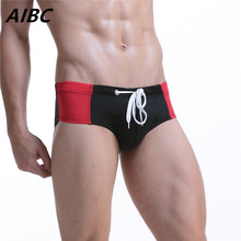 Brand Men Swimwear sexy briefs Swimsuits Swimming Trunks Gay Pouch Beach Summer Surf Boardshorts Wear Brief bikini