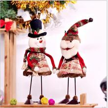 2019 Navidad  Christmas Holiday Figurines Decorations For Home New Year Gift