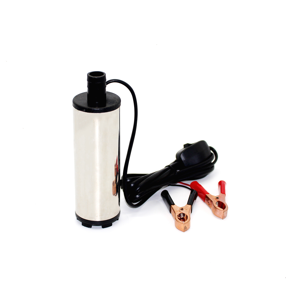 DC 12V electric fuel transfer pump 30L/Min Oil pump Submersible water diesel pump Diameter 51MM stainless steel stainless steel 220v portable electric water transfer pump sump submersible utility garden pool
