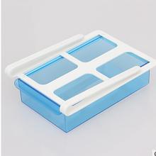 Convenient Slide Fridge Freezer Organizer Refrigerator Storage Rack Shelf Drawer convenient storage organizer for kitchen