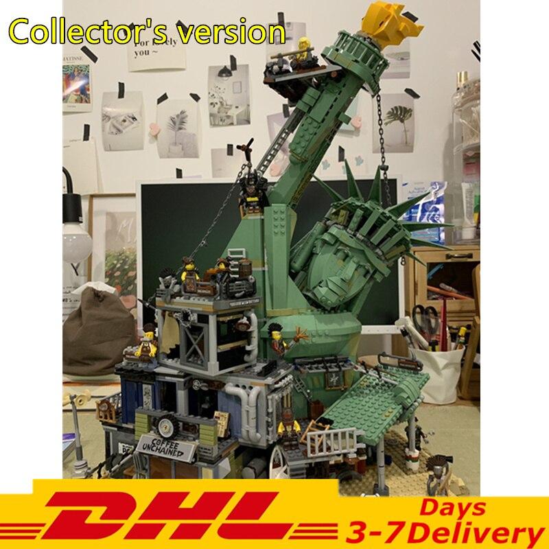 En stock DHL MOVIE 2 Bienvenido a Apocalypseburg juego de bloques de construcción conjunto de ladrillos clásicos 70840 modelo de juguetes de regalo