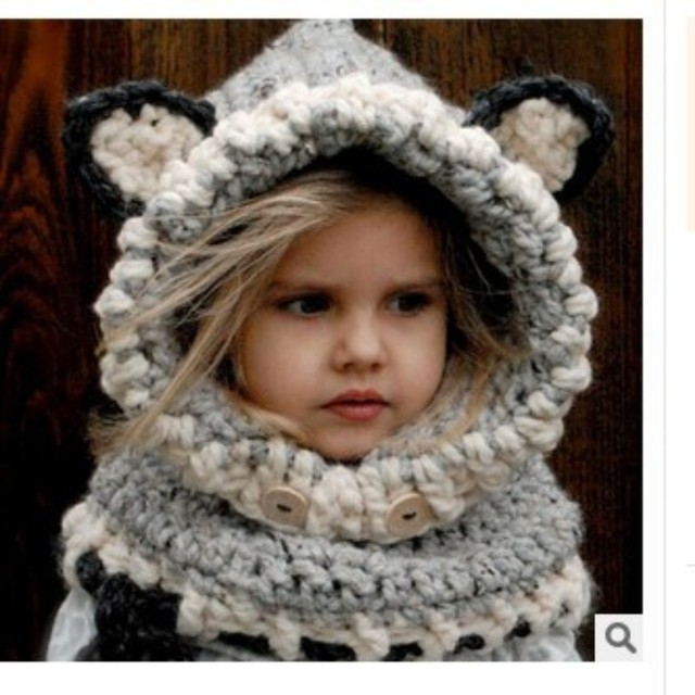 fox and dinosaur hat pattern Kids Fox Hats Hoodie Fox Animal Hat ...