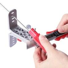 Molibao профессиональная точилка для ножей, кухонная система заточки с 5 каменными вариантами для всех ножей, система заточки ножей Z25