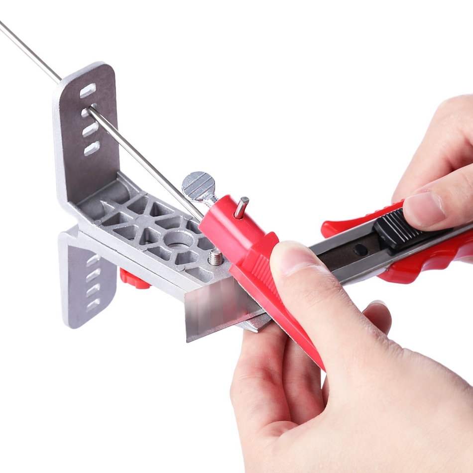 Molibao Professional Knife Sharpener Kitchen Sharpening System with 5 Stone Versions for All