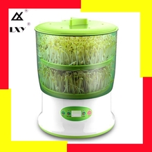 Intelligent Bean Sprouts Maker household Upgrade Large Capacity Thermostat Green Seeds Growing Automatic Sprout Machine EU three layer bean sprouts machine domestic automatic large capacity bean sprouts bean sprouts pot sprout pot bud pot