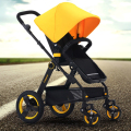 Best Selling Baby Car High Landscape Can Sit And Lie Folding Easy Four Wheel Shockproof Baby Stroller Portable Pram