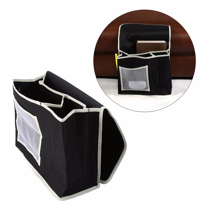 Durable Household Hanging Bedside Bed Sofa Storage Bag TV Remote Organizer Books Phones Holder Storage Bags  sc 1 st  AliExpress.com & Durable Household Hanging Bedside Bed Sofa Storage Bag TV Remote ...