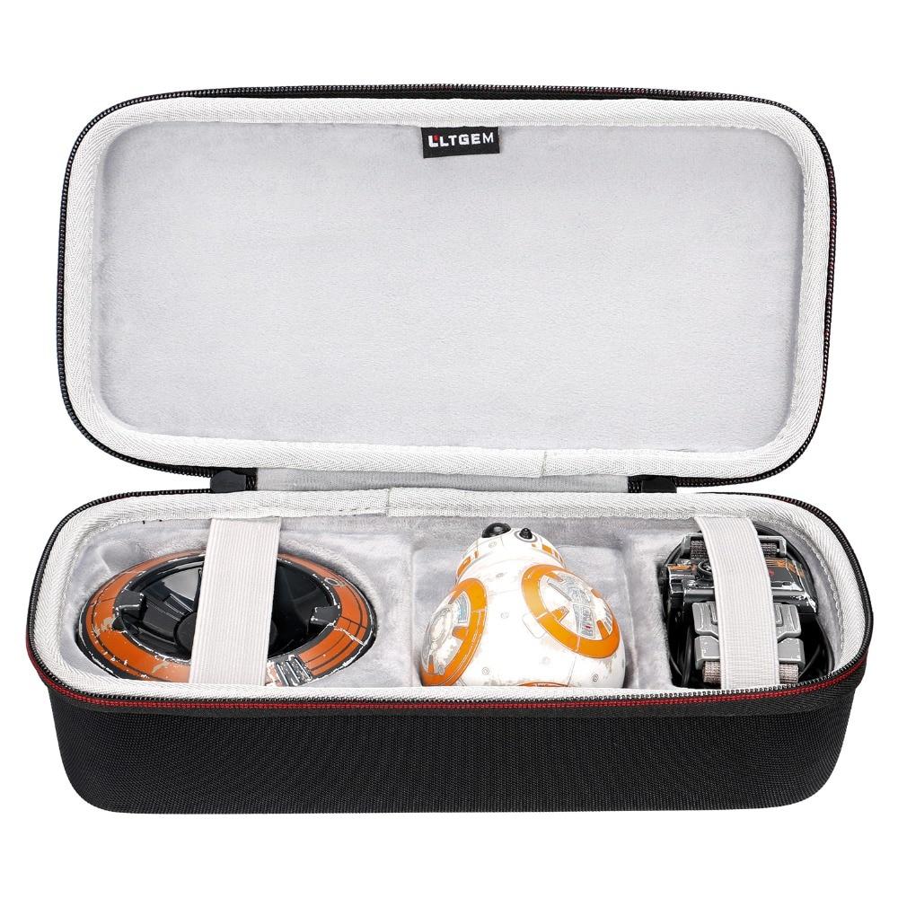 LTGEM Hard EVA Travel Carrying Case for Star Wars R2-D2 App-Enabled Droid Sphero