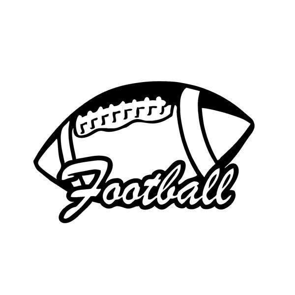 Online Get Cheap Football Car Window Decals Aliexpresscom - Football custom vinyl decals for cars