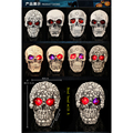Halloween Novelty toy props resin as their terrorist wacky fun we cheat on their skulls place adorn free shipping