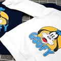Boys and girls 2016 autumn wear long sleeved sweater shirt small baby jacket cotton