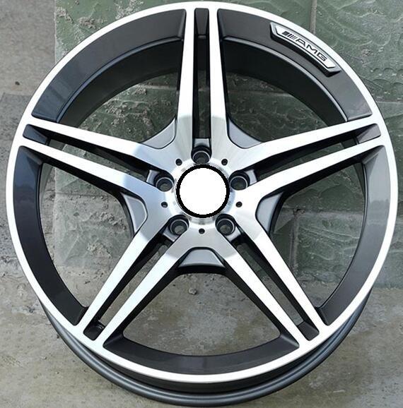 17x8.0 5x112 Car Aluminum Alloy Rims Fit For Mercedes Benz