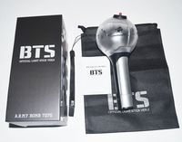 Kpop BTS Bangtan Boys VER1 VER 2 Korea Light Stick For Concert Glow Stick Lamp Fashion