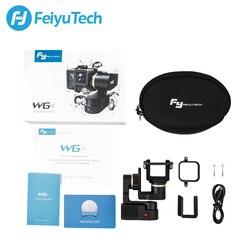 Feiyu Tech FY Feiyu WG2X Waterproof 3 axis Brushelss Wearable Gimbal Stabilizer for Go pro Hero7 6 session Xiaomiyi 4/5 Yi 4K