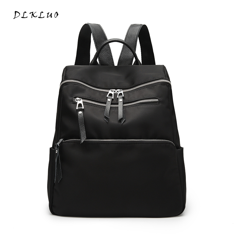 DLKLUO 2017 New Fashion Women Oxford light Backpack Waterproof bag for Teenage Girls Ladies Bags with