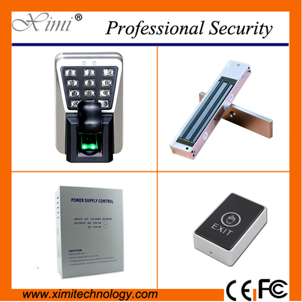Door access control system biometric fingerprint reader tcp/ip 3000 fingerprint user ZK hot sale waterproof samrt door lock tcp ip biometric face recognition door access control system with fingerprint reader and back up battery door access controller