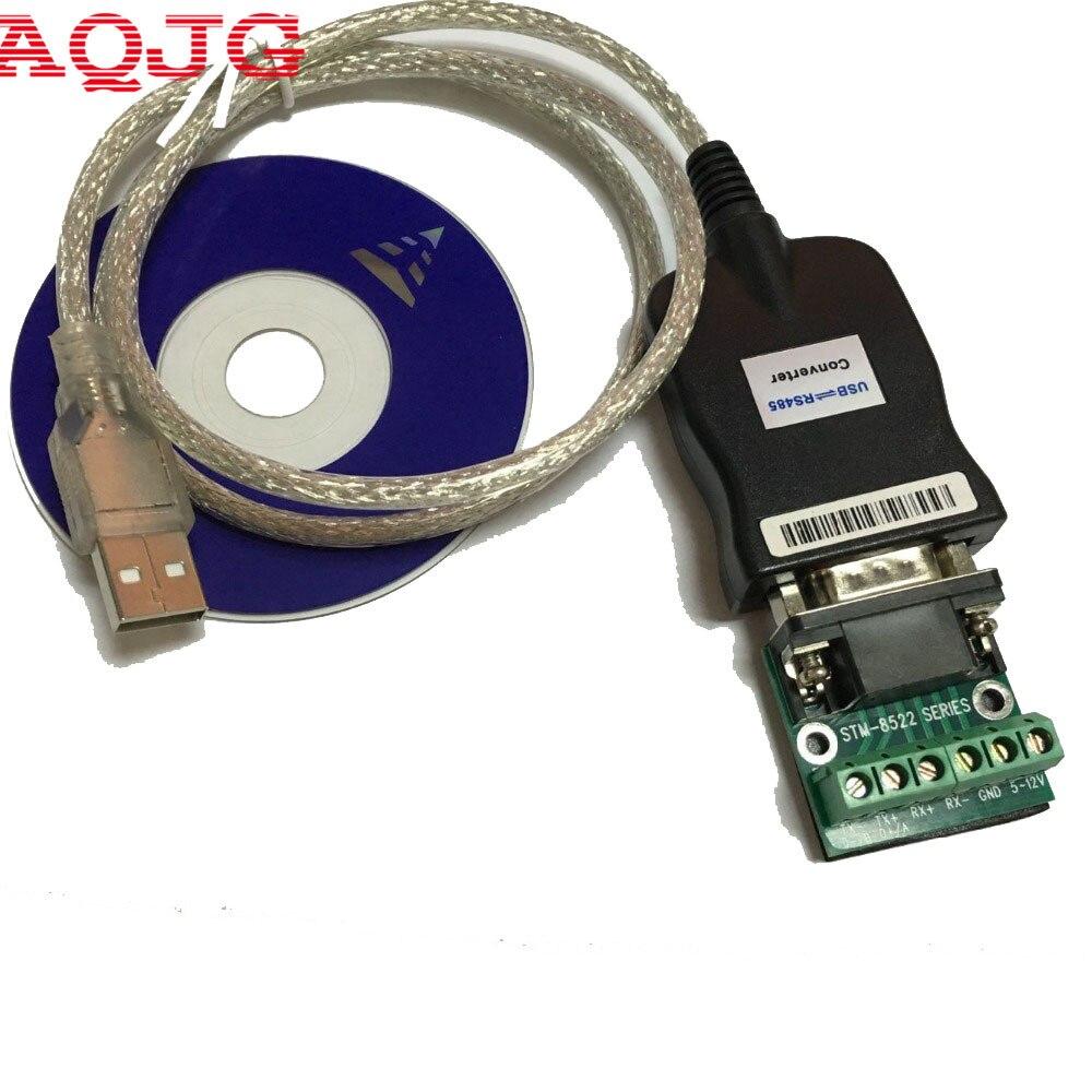 Usb 2.0 usb 2.0 a rs485 RS-485 db9 com porta serial dispositivo conversor adaptador cabo, prolífico pl2303 aqjg