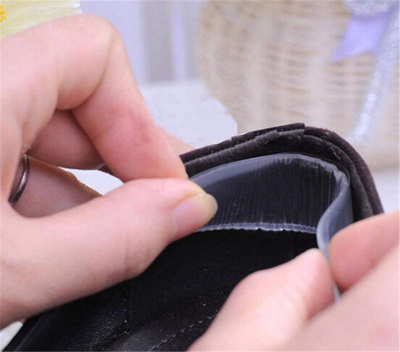 1 Pair Self-adhesive Shoe Insoles Silicone Gel Heel Cushion Foot Care Shoe Pads1 Pair Self-adhesive Shoe Insoles Silicone Gel Heel Cushion Foot Care Shoe Pads
