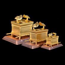 Церковные принадлежности христианские католические ремесла Святого библейского золотого ковчега Кавинанта