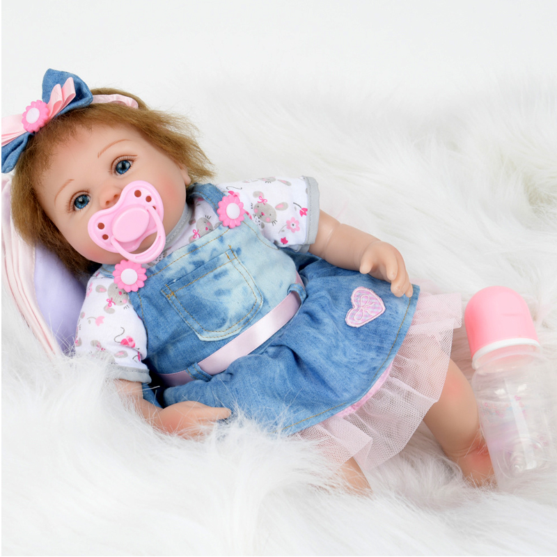 45CM Reborn Baby Dolls Gentle Touch Lovely Premmie Baby Doll Realistic Reborn Baby Pupular Christmas Gift 18 Inch45CM Reborn Baby Dolls Gentle Touch Lovely Premmie Baby Doll Realistic Reborn Baby Pupular Christmas Gift 18 Inch