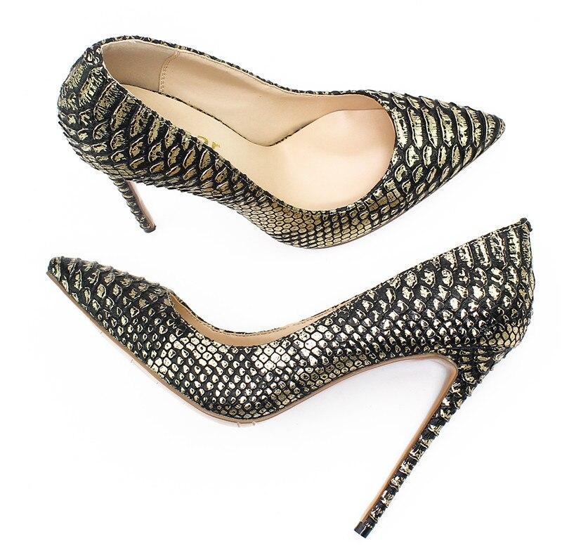 En Pompes De Sexy 12 Chaussures Okhotcn Qualité as Talons Femmes Femme Serpent Mode Cm Motif Véritable Haute Créateur Cuir As Picture Picture Marque pZYwITx