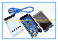Free Shipping 3 2 TFT LCD Touch TFT 3 2 Inch Shield Mega 2560 R3 With