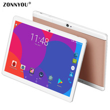 10.1 inch Tablet PC 3G Phone Call Tablet PC Android 7.0 Octa Core 4GB/32GB GPS Wi-fi Bluetooth GPS FM Tablet PC +32GB TF
