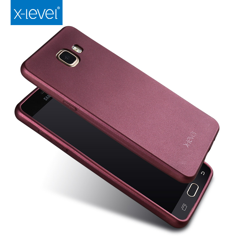 huge selection of 77fb3 ea9bf US $5.66 15% OFF|X Level Ultra thin Soft TPU Case for Samsung Galaxy A3  2016 A310 A310F Matte Cases for Samsung A3 A5 A7 J3 J5 J7 A6 A8 J4 J6 J8-in  ...