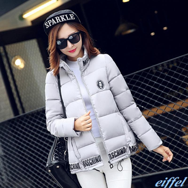 New 2015 Winter Women Wadded Jacket Red Female Outerwear Plus Size Thickening Casual Down Cotton Wadded Coat Women Parkas