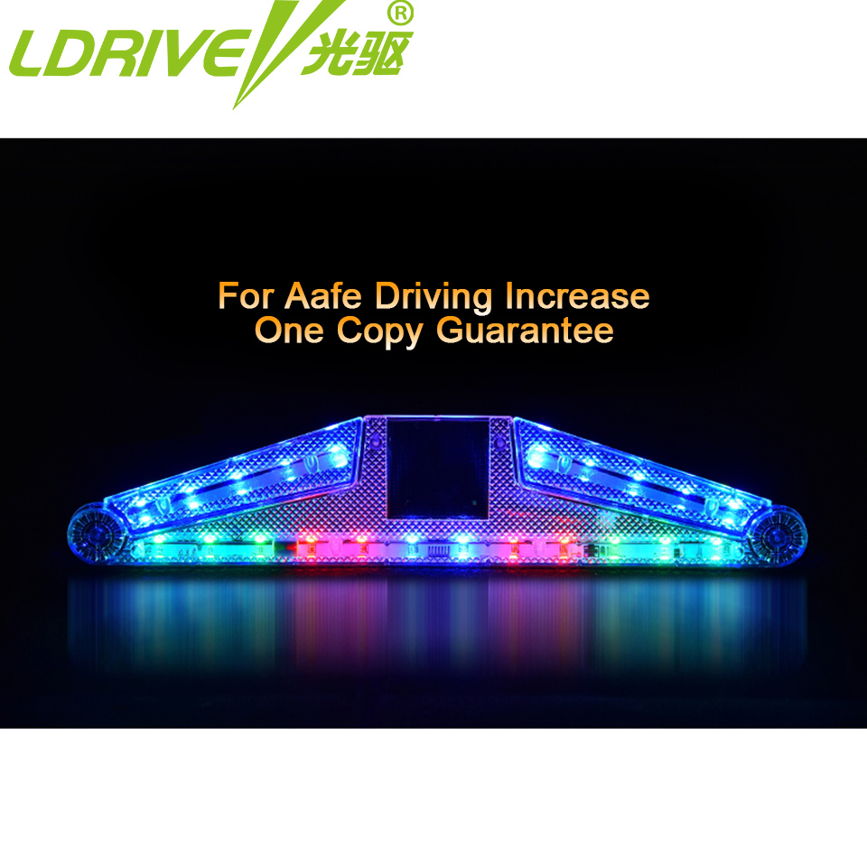 LDRIVE Car Light LED Lamp Tail Light Assembly Interior Accessories Car Styling Car Fog Lamp Daytime