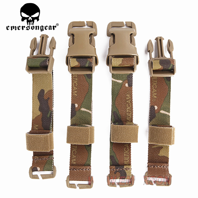 Emersongear Buckle Straps Set Adapter Kit For Tactical Chest Rig Tactical Combat Vest Airsoft Gear