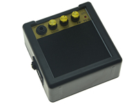 Clip Op Riem Draagbare Mini Elektrische Gitaar Amp Gitaar Speaker Volume Tone Control 3 W/5 W Selectie