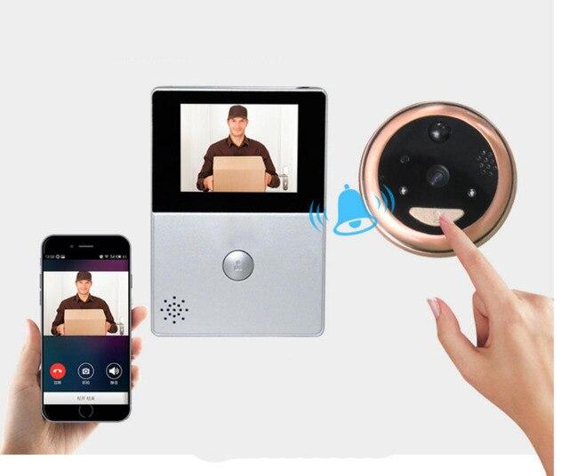 Wifi 28 Oled Hd Screen Monitor Door Viewer Front Door Peephole