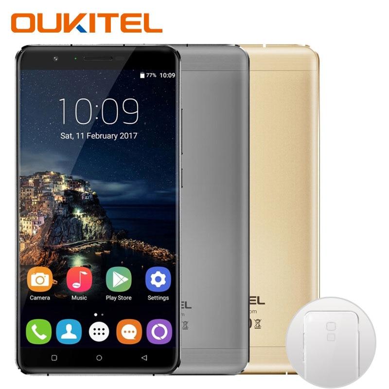Galleria fotografica Oukitel U16 Max <font><b>Smartphone</b></font> Android 7.0 MTK6753 Octa Core ROM 32G + RAM 3G 6.0 pouce Tactile D'empreintes Digitales ID 13.0MP 4000 mAh Téléphone Portable