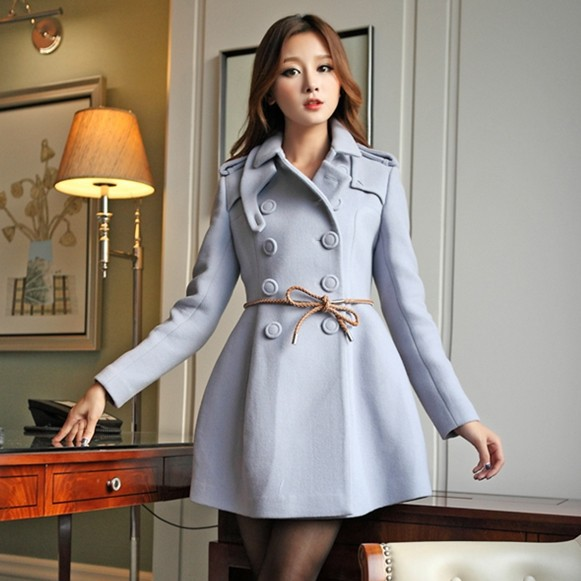 Military Knight Style Double Breasted Slim Fit Skirt Wool Pea Coats For  Women Winter 2013 Fashion - Compare Prices On Military Peacoat Women- Online Shopping/Buy Low