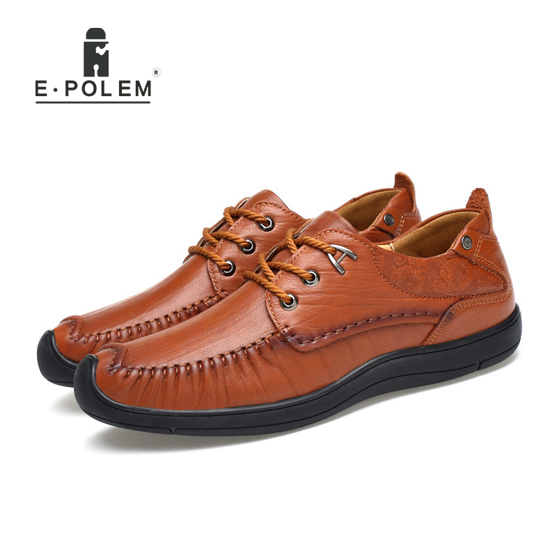 Genuine Leather Business Men Shoes 2017 New Style Casual England Style Cow Leather Oxfords Shoes Fashion Men Driving Shoes new brand cow suede men shoes genuine leather casual shoes breathable comfortable men oxfords shoes fashion men flats 2 5a