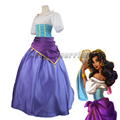 The Hunchback of Notre Dame movie Esmeralda dress Halloween Carnival Cosplay Costume Custom Made