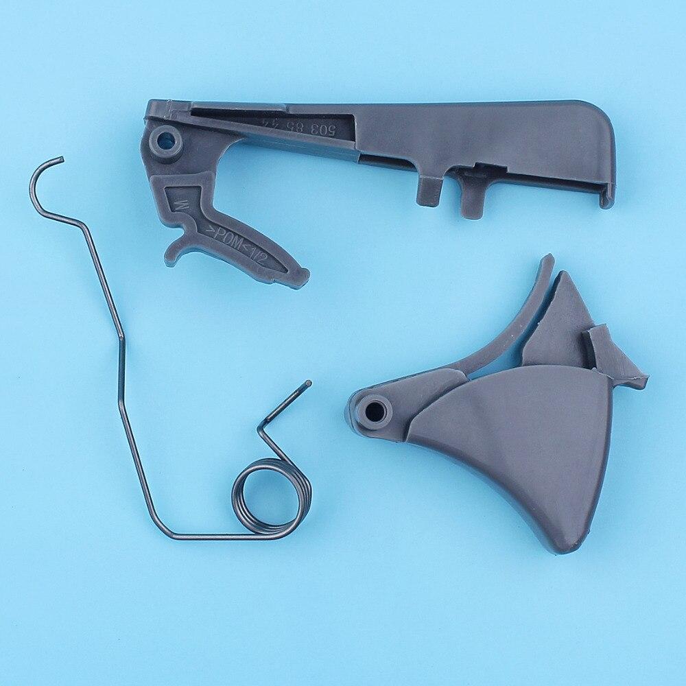 Rear Handle Throttle Trigger Lock Repair Kit For Jonsered CS 2141 2145 CS2147 2149 2150 CS2152 CS2153 Chainsaw Spare Parts NEW