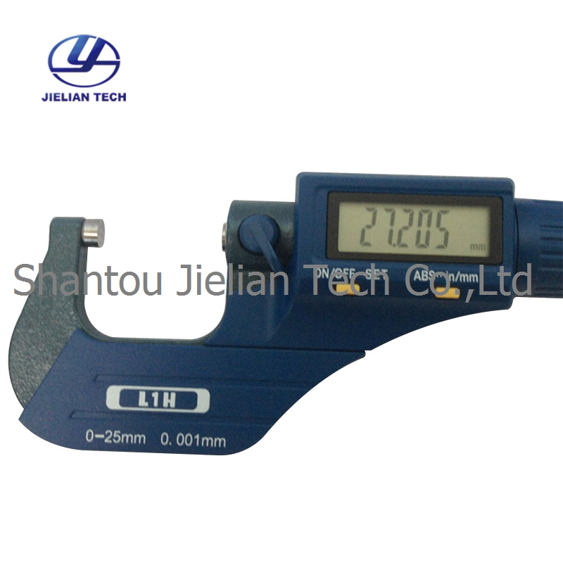 0 001mm Digital Outside Thickness gauge Meter 0 25mm Micrometer XC04 in Tool Parts from Tools